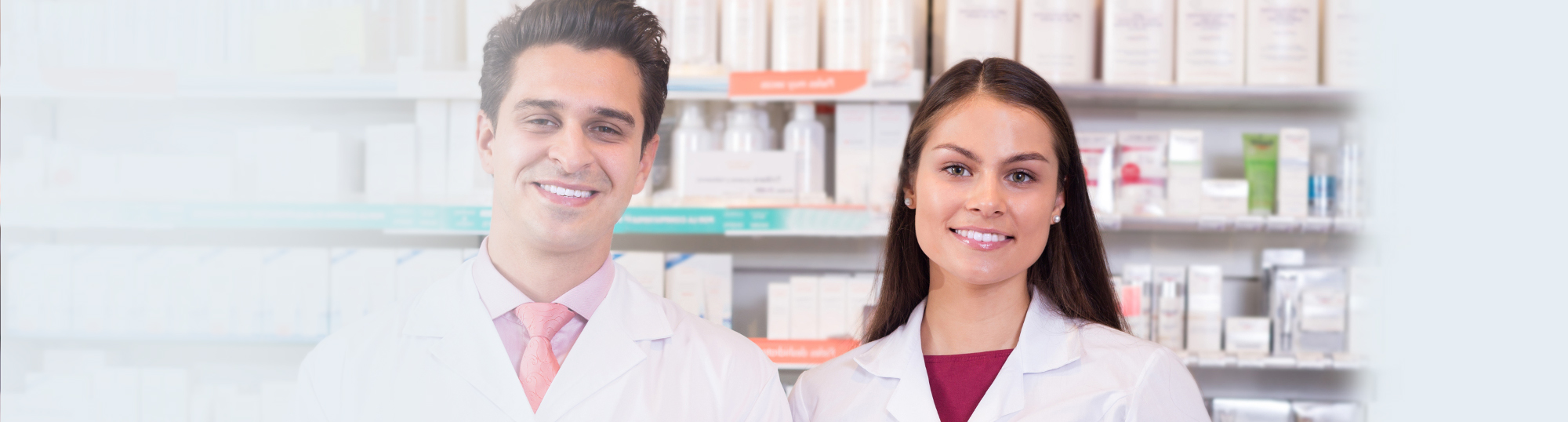 Two Smiling Pharmacists